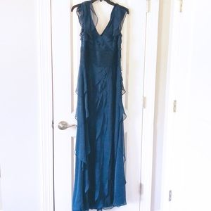 NWT Adrianna Papell Evening Gown Midnight blue